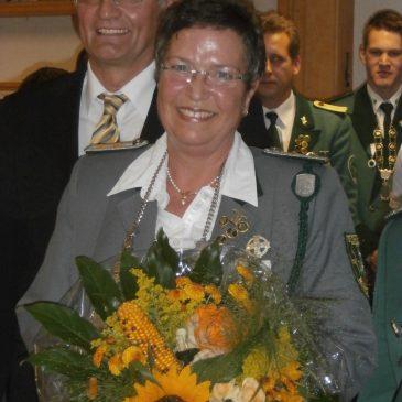 Kreiskönigin 2014 Gabriele Rockenfeller-Dietz mit Landrat Kaul