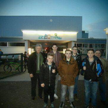 Einladung der Jungschützen ins Eislaufcenter Neuwied