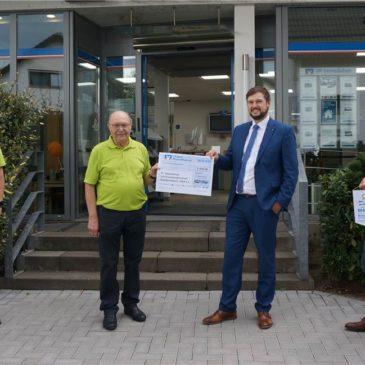 Über 5000 Euro für ein sicheres Dach gesammelt