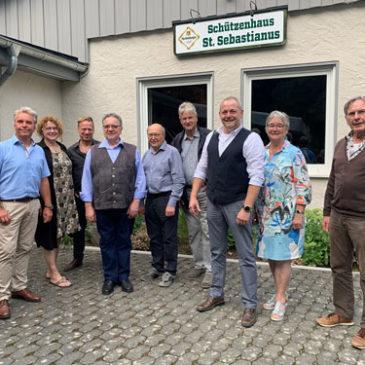 Waldbreitbacher Schützen können sich auch selbst gratulieren
